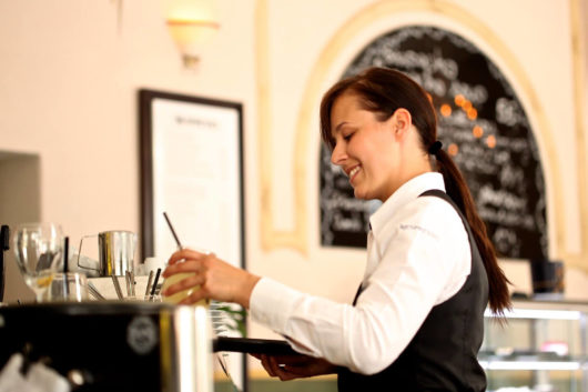 Catering services operator – Table and bar service  – Tortona