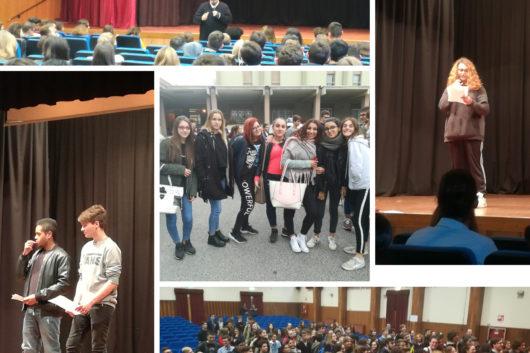 26/10/18 Il CFP, l'Agenzia Formativa e il Liceo Santachiara partecipano al Sinodo Diocesano dei Giovani