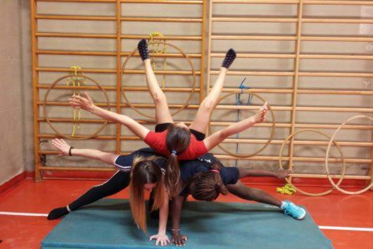 06-06-2018 Un'ora di Discipline Sportive al Liceo Sportivo Santachiara
