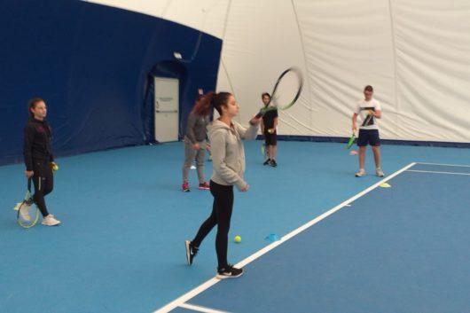 29-05-19 Lezioni di tennis al Liceo Sportivo