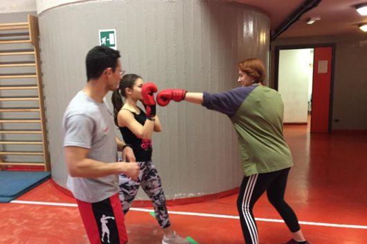 05-04-19 Lezioni di BOXE al Liceo Sportivo Santachiara