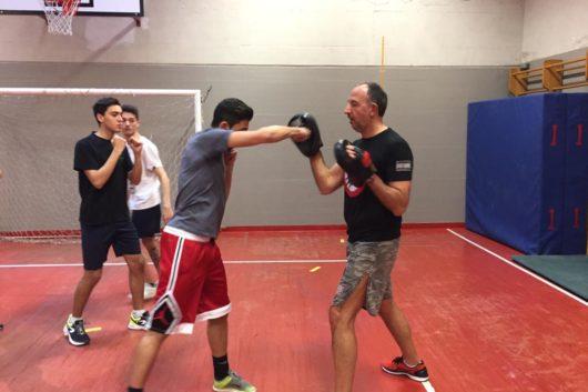 21/02/19 Lezioni di Kick boxing per gli alunni della classe 5 Sportivo