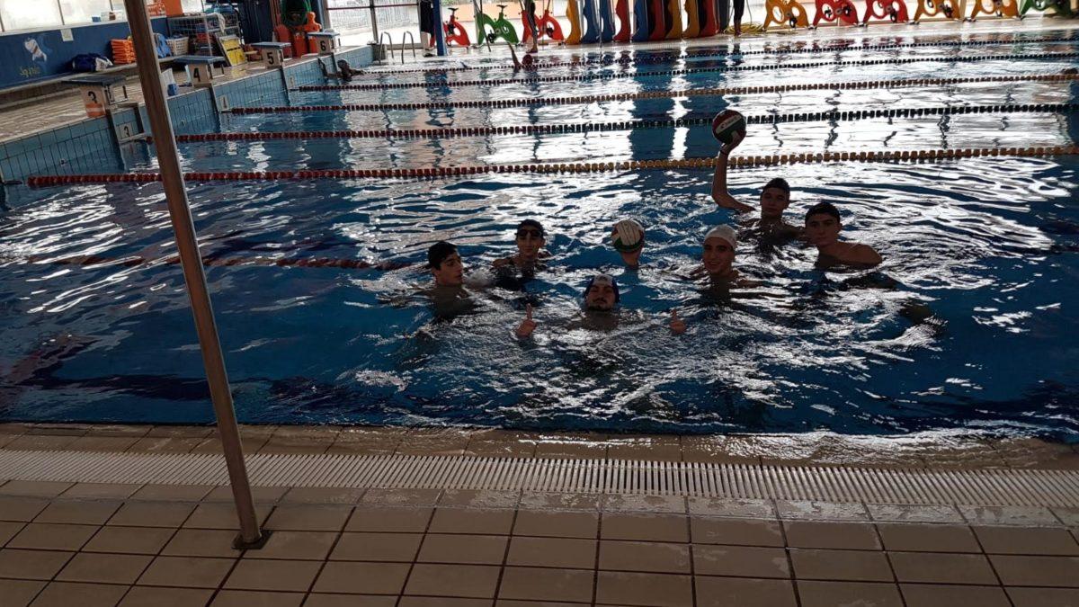 30-11-18 Lezioni di nuoto per il Liceo Sportivo Santachiara