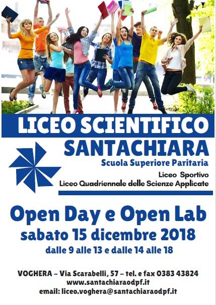 30-11-18 Open Day e Open Lab Liceo Santachiara