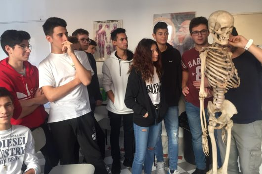 12/11/2019 Lezioni di Discipline sportive al Liceo Santachiara