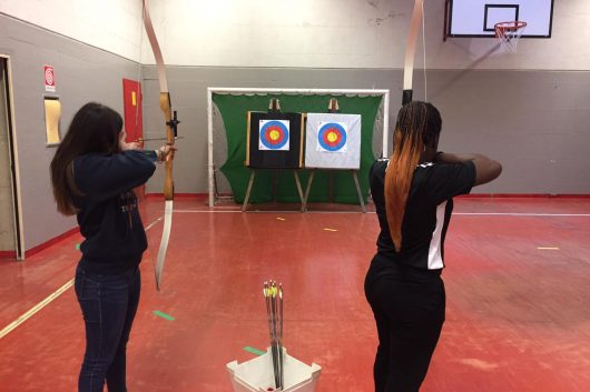 Lezioni di tiro con l'arco