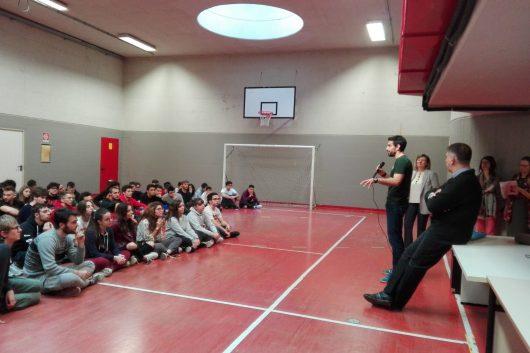 I giovani del Santachiara in ricerca: incontro con il seminarista Daniele Lottari
