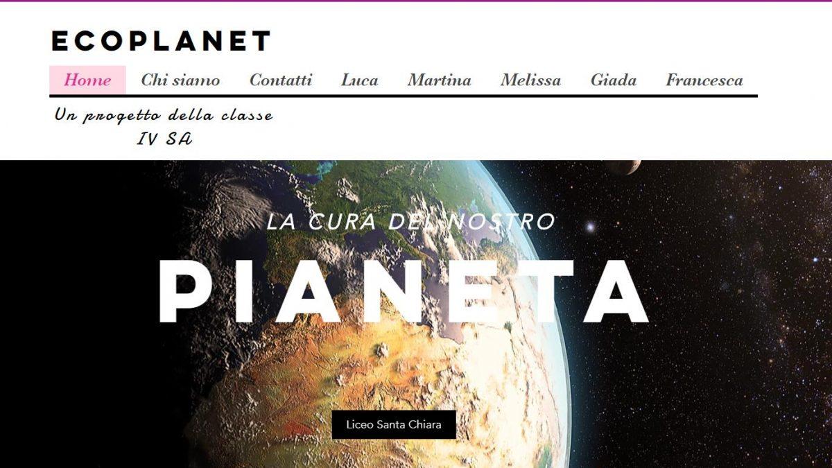 Didattica 2.0: gli alunni della classe IV Liceo Scienze Applicate creano un proprio sito web