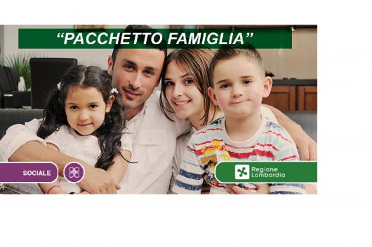 """Importante! E' disponibile """"Pacchetto famiglia"""" di Regione Lombardia"""