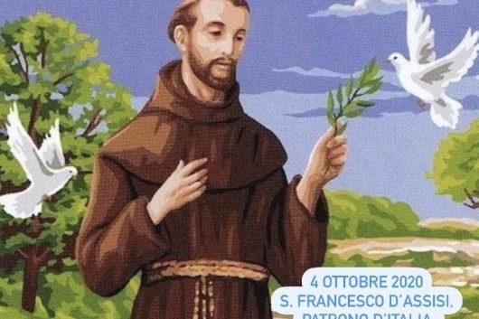 4 ottobre 2020: celebrazioni per la giornata di S.Francesco d'Assisi