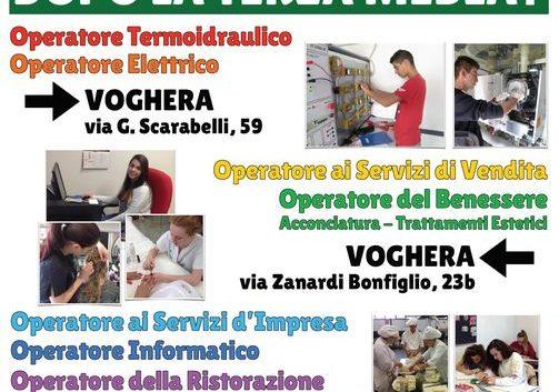 19-12-2020: Open Lab nella sede del CFP di via Zanardi a Voghera