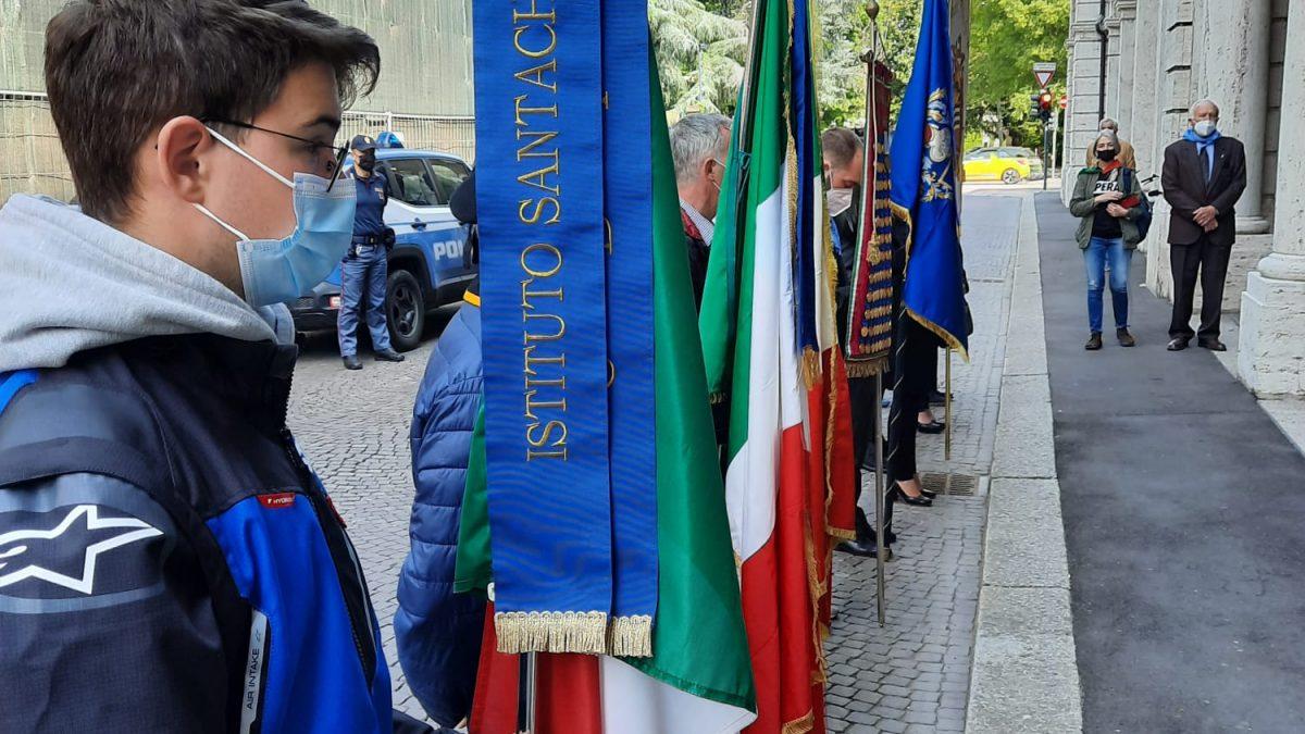 L'Istituto Santachiara partecipa alle celebrazioni del 25 aprile